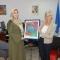 Samira, well deserved winner of the World Health Day art competition