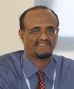 A photo of Dr Abdi Aden Mohamed