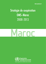 Country Cooperation Strategy for WHO and Morocco - 2008-2013