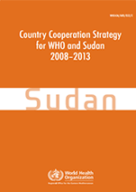 Country Cooperation Strategy for WHO and Sudan - 2008-2013