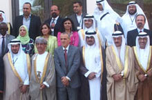 Members of the WHO Regional Committee attended the opening of the 60th session in Muscat, Oman