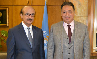 Visit of H.E. Dr Ahmed Emad Eldin Rady, Minister of Health and Population of Egypt