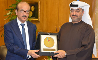 Dr Fikri and Dr Hamad Al Ghaferi, Director General of the National Rehabilitation Centre, Abu Dhabi