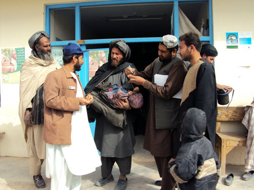 The polio programme needs to make sure that all vaccinators are safe during campaigns and post-vaccination rounds in Uruzgan province and elsewhere.