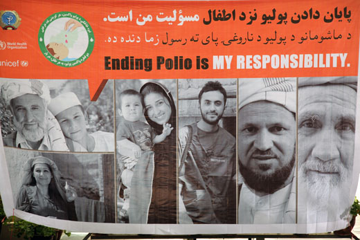 In Afghanistan, the funding gap of the Polio Eradication Initiative emergency action plan is estimated at US$ 2.5 million in 2012; � and is projected to be US$ 12.8 million in 2013.�