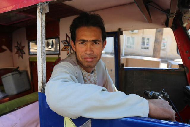 In some places, more vaccines were needed. Rickshaw driver Khalil Ahmad played his part in ensuring that every team had enough vaccines, driving more supplies to a neighboring district for the final revisit day.