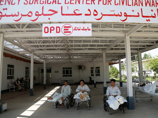 Credit:� Afghanistan/G.Elham Since its establishment in December 1999, Emergency has treated over 5 million people in Afghanistan. The Surgical Centre for war victims in Lashkar Gah was opened in 2004. It is the only free specialized facility in an area that has been at the centre of the escalating Afghan conflict in recent years. Currently around 4.5 million Afghans live in conflict-affected districts with extremely constrained access to health services.