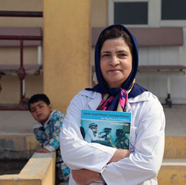 Meet the people at the heart of health response to gender-based violence in Afghanistan