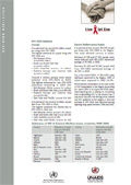 Image of the World AIDS Day 2003 fact sheet
