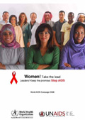 Thumbnail of World AIDS Day 2008 poster
