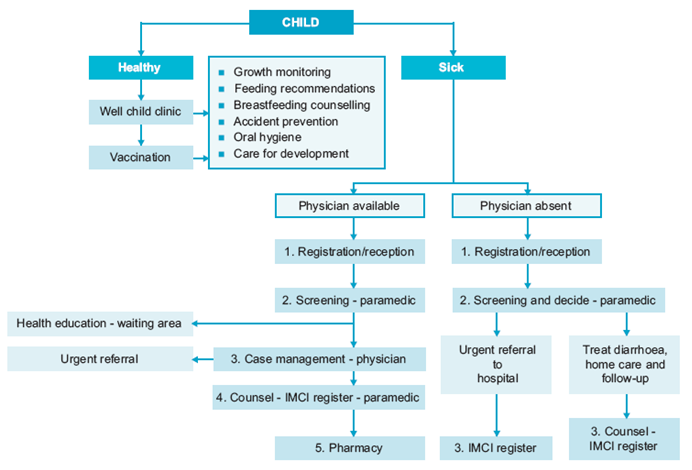 Organizational Chart For Health Care Facility: WHO EMRO | Health systems support | Health-systems | Child health ,Chart