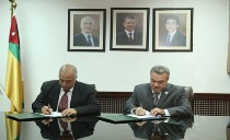 Wastewater reuse project signing ceremony with the University of Jordan