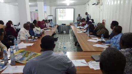 WHO supports training of Somali health workers to scale up the cholera outbreak response