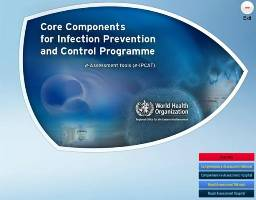 electronic Infection Prevention and Control Assessment software interface snaphot