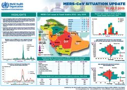 Regional situation update on MERS-CoV, 30 April 2016