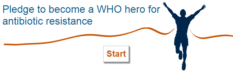 Become a WHO hero and pledge to fight antimicrobial resistance