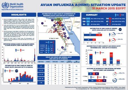 Avian influenza A(H5N1) in Egypt, 31 May 2015