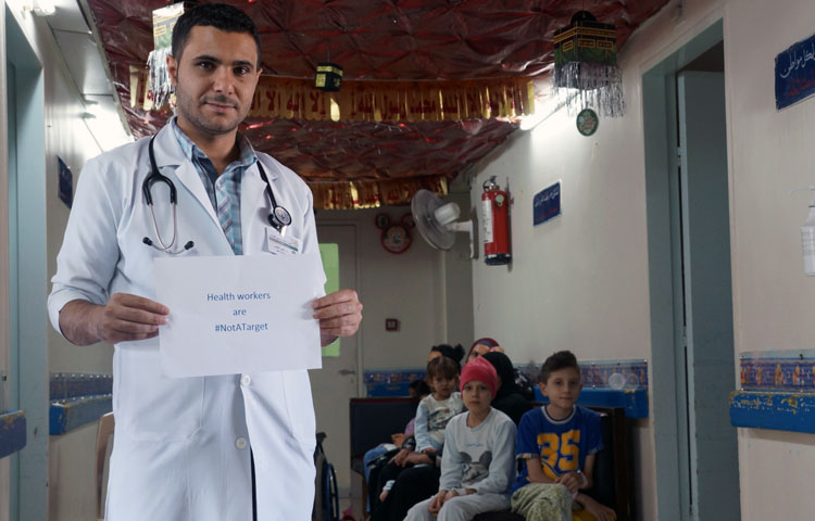 Dr al-Khamis, a paediatric oncologist at the Children's Hospital in Damascus