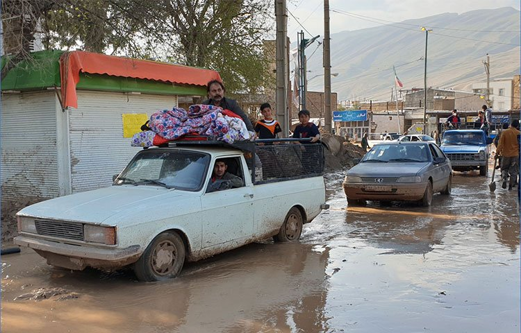 Iran floods leave people with limited access to life-saving health services