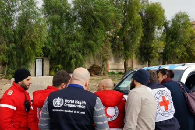 International humanitarian law and the Geneva Conventions strictly prohibit attacks on health care premises, vehicles, personnel and patients. Documentation is essential to identify violations, create mechanisms for protection and develop the political will to enforce them. Together with partners, WHO is establishing a system for collecting data on attacks on health workers, health facilities, transport, and patients in complex emergencies.