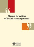 Thumbnail of Manual for Editors of Health Science Journals