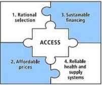 Framework for access to essential medicines