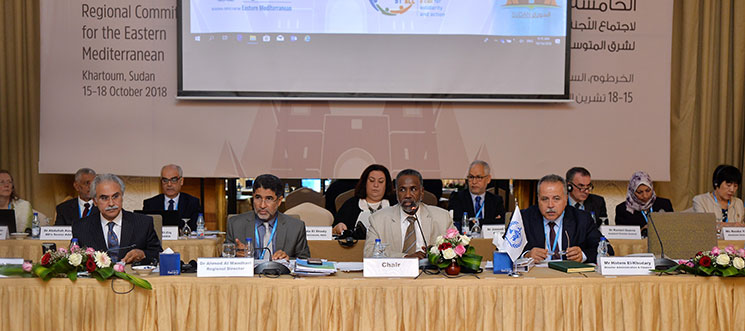 65th Session of WHO's Regional Committee for the Eastern Mediterranean opens in Khartoum
