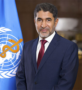 Dr Ahmed Al-Mandhari, WHO Regional Director for the Eastern Mediterranean
