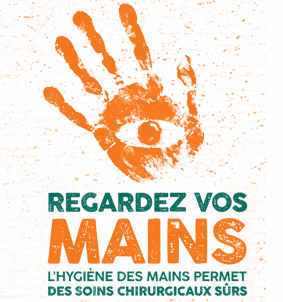 See your hands: hand hygiene supports safe surgical care