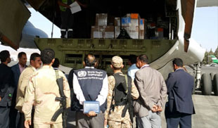 WHO delivers life-saving supplies into Yemen