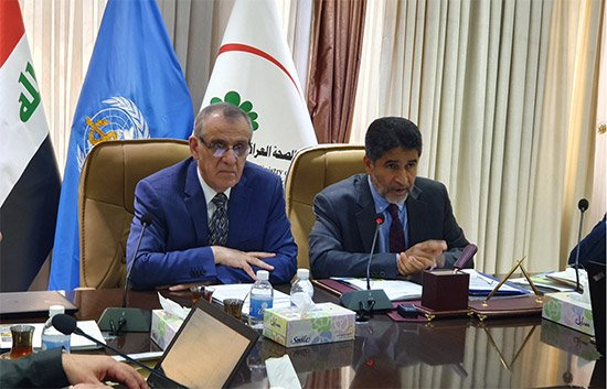 WHO Regional Director in Iraq to reinforce WHO support as country enters transition to development phase