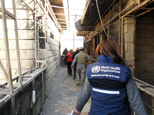 More than 25% of major hospitals and 39% of primary health care centres in the city of Mosul have either been completely or partially damaged, while 50% of all major hospitals remain inaccessible. In areas with functional health facilities, acute shortage of health care staff and shortage of medicines remain a huge challenge.