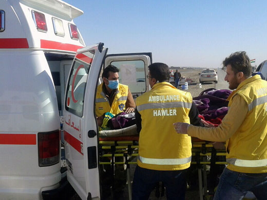 Since the start of Mosul operations in October 2016, WHO has procured and delivered 34 fully equipped ambulances to Ninewa Directorate of Health to ensure timely referrals of emergency cases with complicated conditions. Fifteen additional ambulances were procured and will be pre-positioned in west Mosul alone to respond to wounded patients from frontlines and to support referrals of other complicated medical conditions. All trauma patients treated in Mosul and other neighbouring governorates were transported through WHO and Ministry of Health ambulances. Other partners also provided ambulances used to refer patients with other medical conditions.
