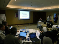 Participants at the strategic planning meeting held recently in Amman, Jordan.