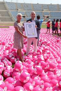 "WHO Lebanon supports the ""Kick Breast Cancer"" campaign"
