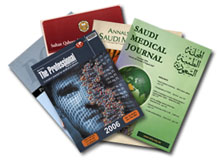 A small pile of journals from the Eastern Mediterranean Region