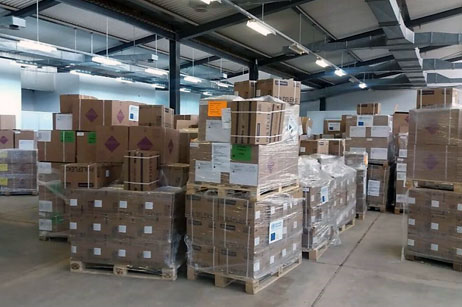 WHO delivers medical supplies to Sabha Medical Centre 8 August 2017 – The World Health Organization (WHO) country office in Libya delivered on 8 August 2017 10 International Emergency Health Kits (IEHK) which are standardized kit of essential medicines, supplies and equipment to Sabha Medical Centre. Read more