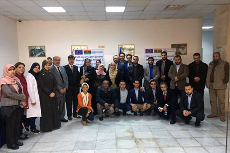 """Workshop for essentials of supply chain management 23 November, 2017, Tripoli – As part of the European Union-funded WHO project """"Strengthening the health information system and medical supply chain management"""" a capacity-building workshop on the essentials of supply chain management was conducted in Libya between 19 and 23 November 2017 at the National Centre for Disease Control in Tripoli. Read more"""