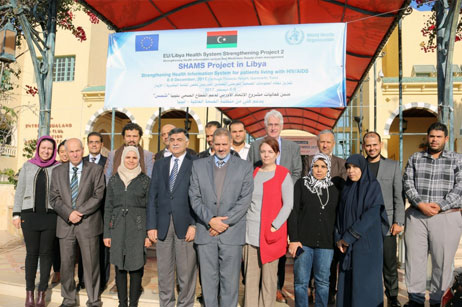 WHO conducts workshop on strengthening health information systems for patients living with HIV/AIDS in Libya 12 December 2017, Tunis – The World Health Organization (WHO), in collaboration with the National Centre for Disease Control in Libya, conducted a two-day planning workshop on strengthening health information systems for patients living with HIV/AIDS on 8–9 December 2017. The workshop was held in the WHO Libya Office located in Tunis. Read more