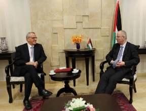 Dr Alwan mets with Prime Minister Dr Rami Hamdallah