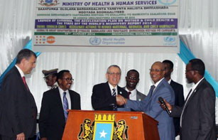 RD in Somalia with Prime Minister