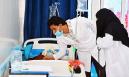 Latest cholera outbreak for Yemen, May 2017