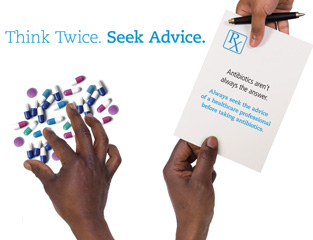 World Antibiotics Awareness Week 2017:Think twice - seek advice