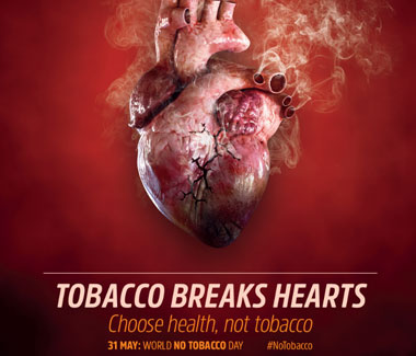 Tobacco breaks hearts
