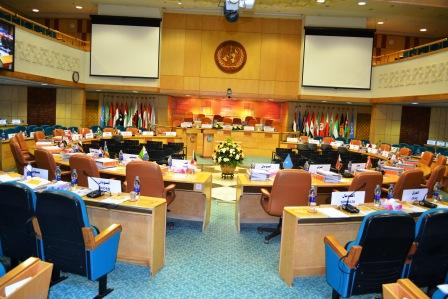 Kuwait conference hall in WHO Eastern Mediterranean Region