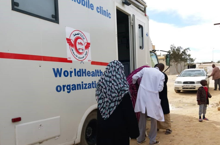 Emergency Medical Mobile Teams bring health services closer to people in need