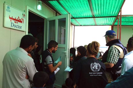 WHO has established a second primary health care unit to treat 3250 families in Amiriyat Al-Fallujah
