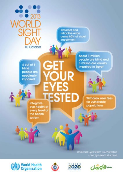 World Sight Day 2013 Poster