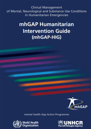 mhGAP humanitarian intervention guide (2015)