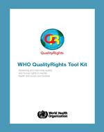 WHO QualityRights toolkit now available in Arabic